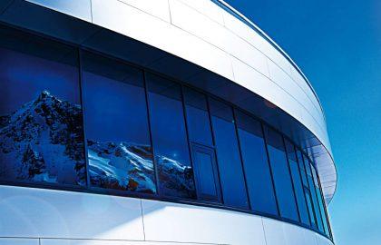 Aluminyum cam dış kompozit panel cephe temizlik