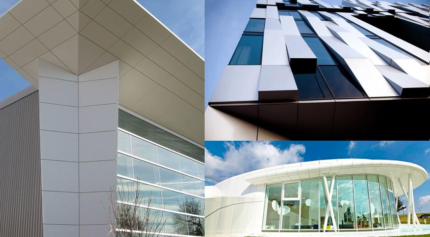 Bina dış cephe, aluminyum kompozit panel temizleme, cam kireç temizlik ürünleri