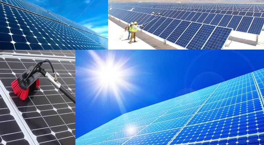 güneş enerji panelleri temizlik ürünleri, ekipmanları. Temizlik Makine satışı ve eğiti