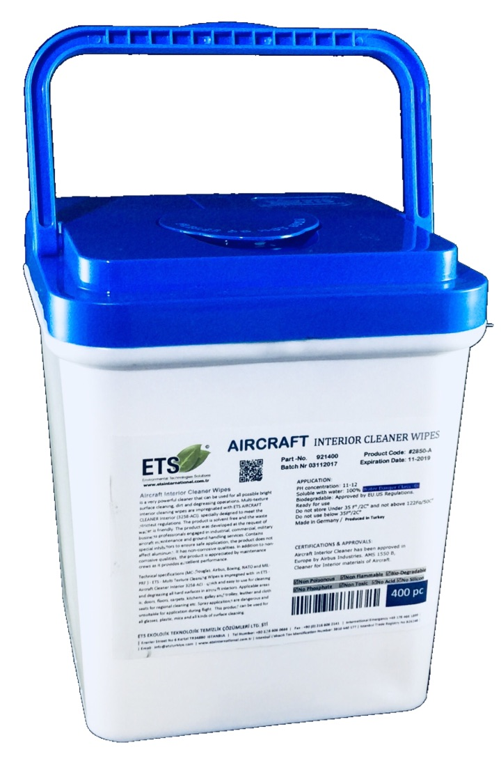 Aircraft Interior Cleaner Wipes Ets Cleaner Markt